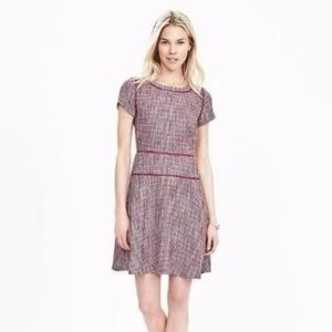 Banana Republic Tweed Fit Flare Dress